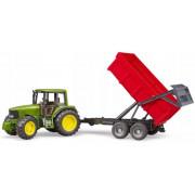 John Deere 6920 Bruder Traktor z rdečo prikolico kiper - 02057