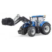 Bruder traktor New Holland T7.315 s sprednjim nakladalcem 03121