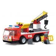 Blocki kocke - gasilsko vozilo MyFire 188 el.