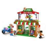 Kocke Blocki MyGirls Pizzeria Lary - 263 elementov