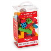 Klasični kocke 55 kosov Marioinex v obliki vafljev