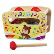 Zabavna lesena glasbena igrača Trefl Drewniana igram Bim Bam 60997