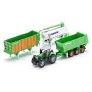Traktor z prikolico Siku Farmer + Gift Set - S1848 - 1:87