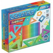 Magnetne kocke Geomag Rainbow Panels