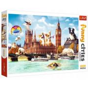 Trefl Puzzle 1000 el. Psy w Londynie