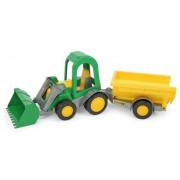 Traktor z prikolico - Wader Farmer - 41 cm