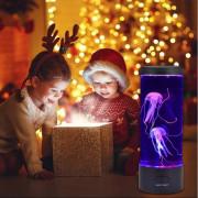 Umetni Vodni Meduzni Akvarij z LED Lučkami