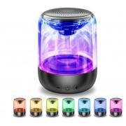 Transparentni Crystal Bluetooth 5.0 Zvočnik več Barvni