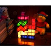 Kreativne Nočne Lučke TETRIS - 7 kos