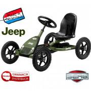 Gokart na Pedala Jeep® Junior 3-8 let do 50 kg - 24.21.34.01 - Berg