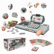 WOOPIE Otroška blagajna Mikrofon s težo optičnega bralnika + 25 dodatkov - 28781 - Woopie