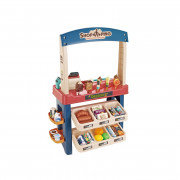 WOOPIE Trgovina Supermarket s sladoledom in sladkarijami Light Sound + 55 dodatkov. - 29825