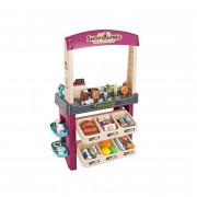 Supermarket s sladoledom in sladkarijami Light Sound + 55 Akc. - 29856 - Woopie
