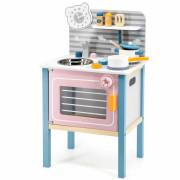 Otroška lesena kuhinja z dodatki Viga Toys - 44027 - Viga Toys