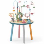 Lesena izobraževalna manipulacijska miza Prepletenka - 44033 - Viga Toys