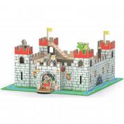 Lesen, realističen grad +  figurice - 50310 - Viga Toys
