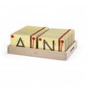 Magnetne mize, ki se učijo pisanja velikih črk Viga Toys - 50337 - Viga Toys