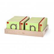 Magnetne mize, ki se učijo pisanja malih črk Viga Toys - 50338 - Viga Toys
