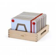 Magnetne mize, ki se učijo risanja geometrijskih figur Viga Toys - 50340 - Viga Toys