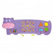 Senzorična manipulacijska plošča Lesen povodni konj Viga Toys - 50470 - Viga Toys