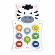 Lesena igra se ujema s certifikatom Zebra Shapes FSC - 50681 - Viga Toys