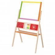 Dvostranska izobraževalna risalna tablaz abakusom - 50951 - Viga Toys