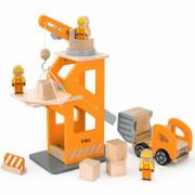 Viga Drewniany Plac Budowy z akcesoriami - 51616 - Viga Toys