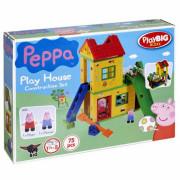Kocke Play Igrišče za prašiče Peppa Pujsa 75 elem. + FIGURE Peppa i George - 57076 - Big