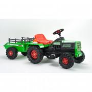 Traktor Na Akumulator Basic 6V + prikolica - 636 - INJUSA
