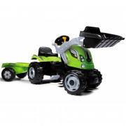 Traktor na Pedala Farmer z Prikolico - 710109 - Smoby