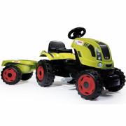 Traktor na pedala Farmer XL z prikolico CLAAS - 710114 - Smoby