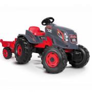 Ogromen XXL močnejši traktor s prikolico - 710200 - Smoby