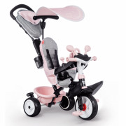 Tricikel Baby Driver Komfort plus ROZA - 741501 - Smoby