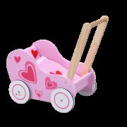 Wózek Drewniany Chodzik dla Lalki Classic World - CW2812 - Classic World