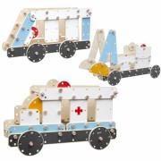 Ogromen lesen gradbeni blok nabora reševalnih vozil - CW53511 - Classic World