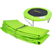 Cover for springs - 10FT green--
