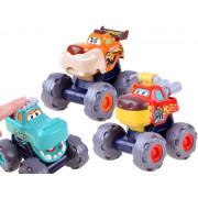 Igrače avtomobil Monster Trucks, komplet treh igralnih vozil za otroke -3151-ZA3516