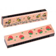 Lesena ustna harmonika otroška IN0142 -T19A-IN0142