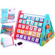 Izobraževalna igrača  štetje in učenje abecede -  5v1 -N3283-1-ZA3948