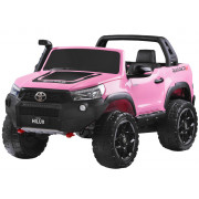 Električni Jeep - Jokomisiada - 4x4 - 2x12V - Toyota Hilux za 2 osebe PA0250- ROZA