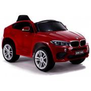 Električni Avto - LeanToys - 12V - BMW X6 -3286 - Rdeče Lakiran