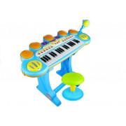 Otroški klavir z stolčkom in mikrofonom -41