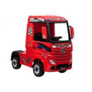 Električni kamion - LeanToys Mercedes Actros 4x4 - 2x12V -4593 - Rdeča