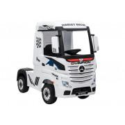 Električni Kamion - LeanToys - Mercedes Actros HL358 - 4x4 - 2x12V -4595 - Bela
