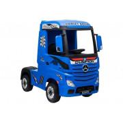 Kamion na akumulator - LeanToys - 4x4 - 2x12V - Mercedes Actros -4599 - Lakirano Modra
