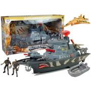 Vojaška ladja, luči in zvoki vojaške baze + dodatki -5035