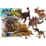 Velik komplet dinozavrov v vreči  - figurice -5135
