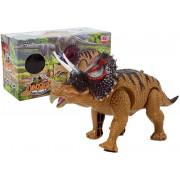 Rumeni triceratops dinozaver na baterije-6638