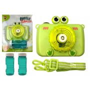 Kamera piha zelene milne mehurčke na baterije - ZELENA-6689