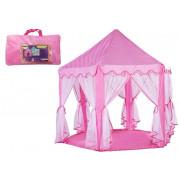 Šotor Princess Pink v vrečki za zavese 6 sten-7186